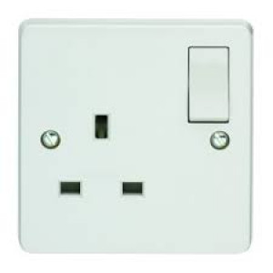 13 amp 1 gang Switch socket mem
