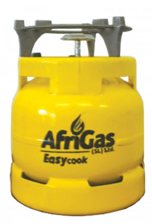 6 Kg Afri Gas Bottle