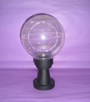 Globe 150 mm transparent with base