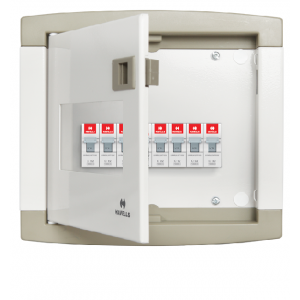 Distribution Board 4 way -1 phase havells