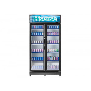 Hisense Showcase Chiller double door