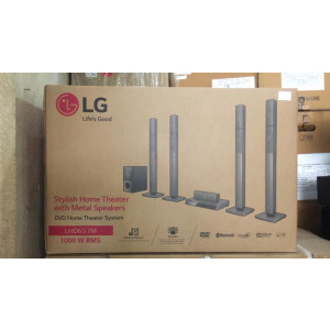 Home Theatre With Metal Speakers L.G LHD657M