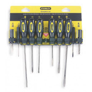 screwdriver set 10pc   0-60-100 stainley